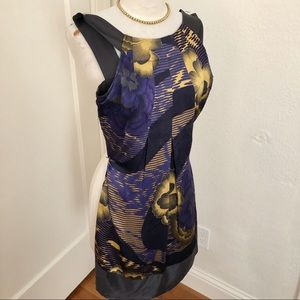 EUC Ted Baker London Silk Dress Size 1 (US 0-2)